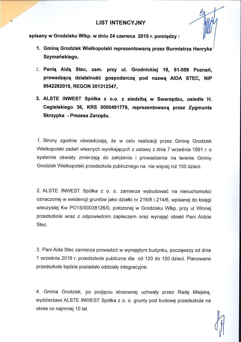 Do 1 września 2016 na Osiedlu Wojska Polskiego ma powstać przedszkole 2