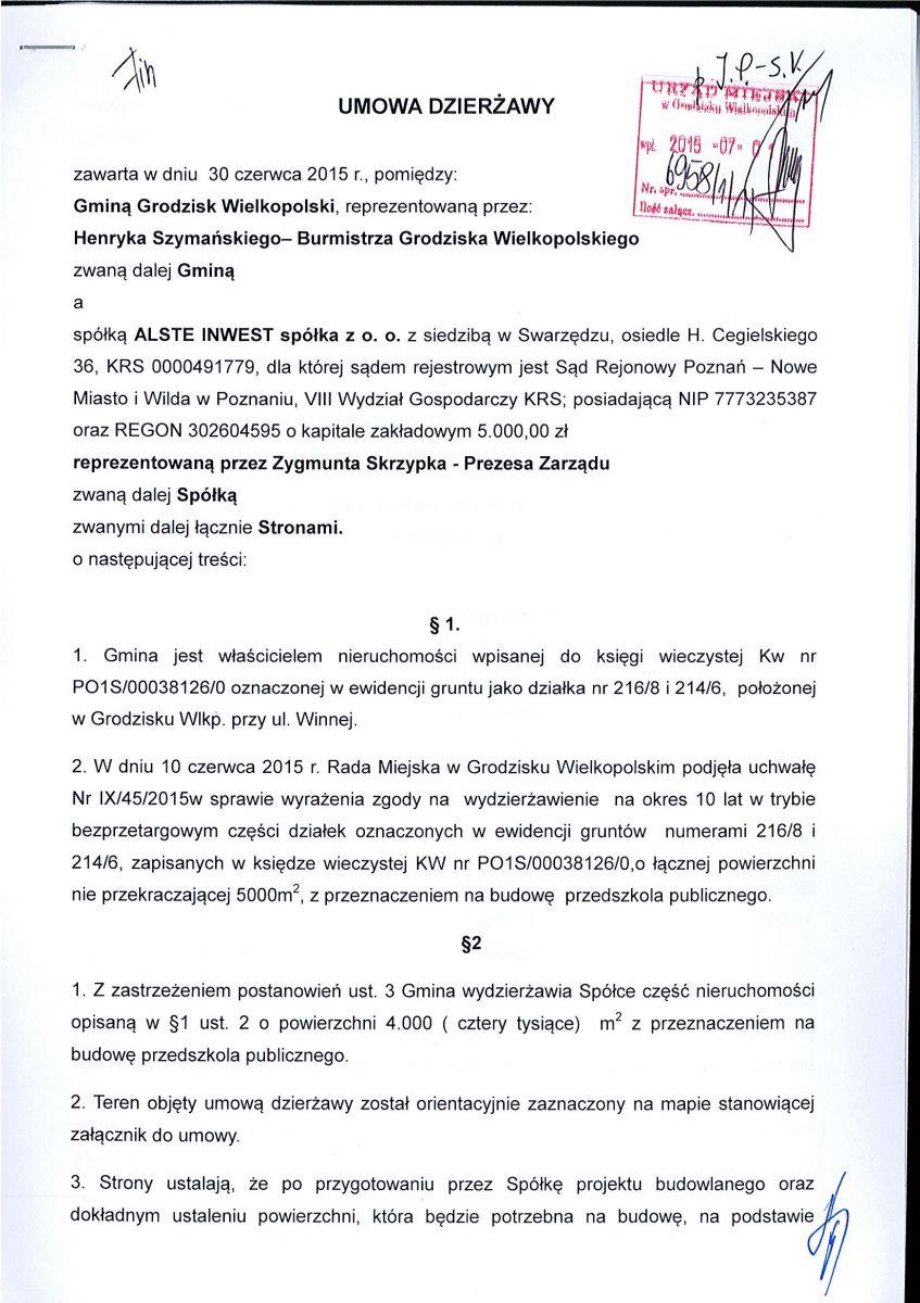 Do 1 września 2016 na Osiedlu Wojska Polskiego ma powstać przedszkole 4